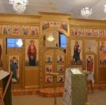 Новый иконостас Петропавловского храма