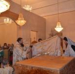 Одеяние престола индитией (верхней одеждой)