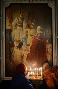 Господи Боже наш, предстательством Богородицы, услыши молитву сию!