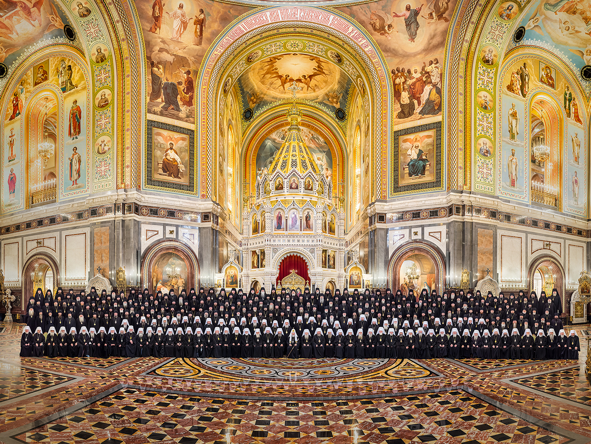 Council Of Russian Bishops In 45