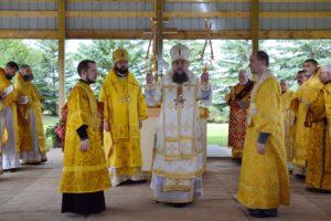 Служение Божественной литургии. Местность Восток. 23.07.2017