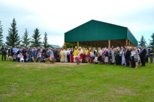 Общее фото участников торжеств в честь 120-летия Православия в Канаде. Восток. 23.07.2017
