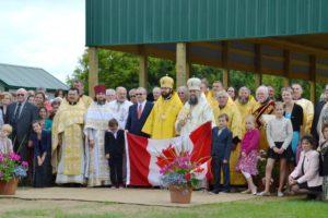 After the Divine Liturgy. Wostok Centennial Site