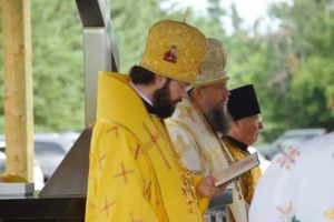 Divine Liturgy. Wostok Centennial Site