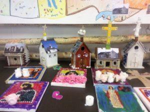 Православные храмы, построенные детьми
