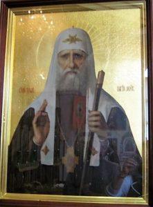 Икона свт. Тихона, патриарха Московского и Просветителя Канады. Собор св.Варвары. Эдмонтон