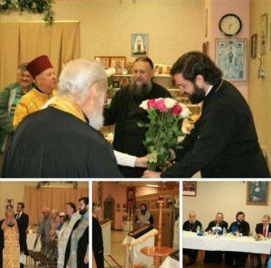 Пребывание делегации на Покровском приходе в Оттаве