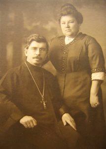 Протоиерей Александр Хотовицкий с матушкой