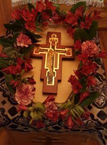 Крест Христов. Домовая часовня Всех святых. Калгари. 27.09.2017г.