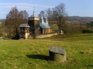 Приходской храм в с.Ждыня (современное фото)